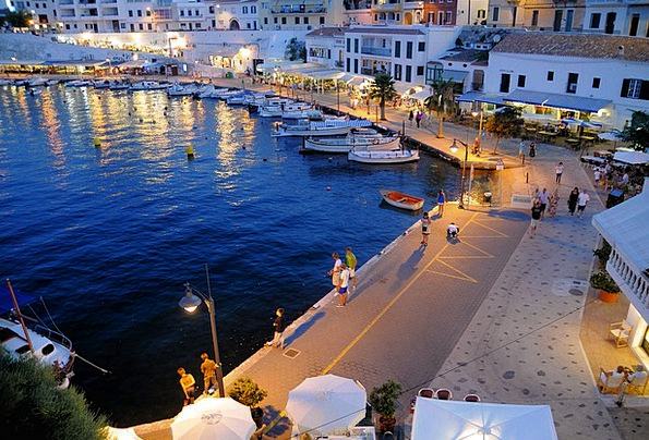 Spain Mediterranean Balearic Islands Menorca It Ca