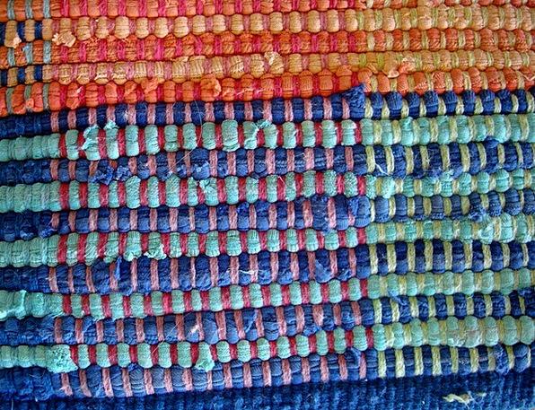 Weaving Interlacing Carpet Rag Cloth Rug Warp Twis