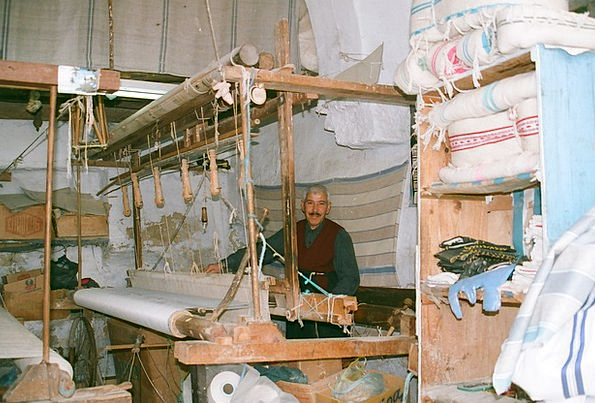Loom Appear Craft Industry Handloom Weaver Tunisia