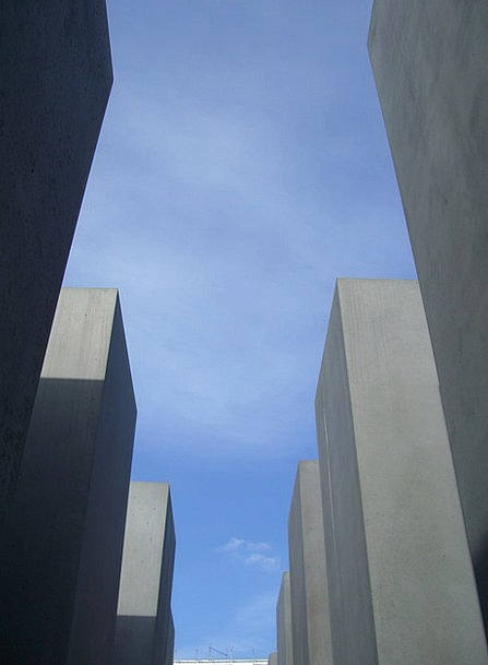Out Available Sky Gray Steles Blue Azure Berlin