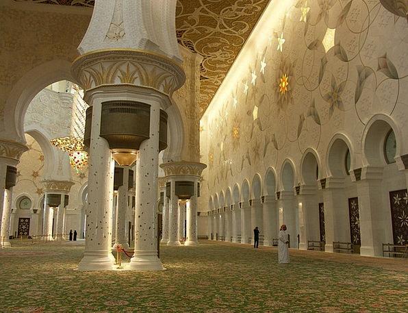 Mosque Buildings Architecture Al Nahyan Grand Mosq