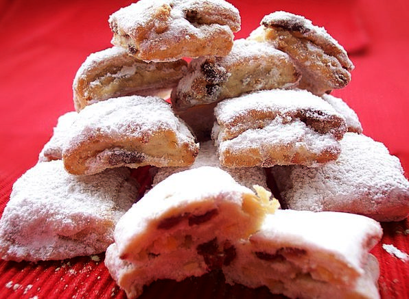 Christmas Stollen Pies Christmas Pastries Confecti