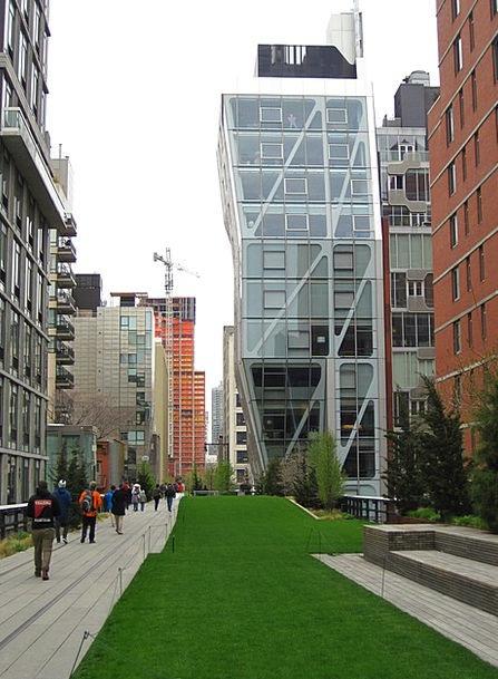 Hl23 High Line New York City Neil Denari Building