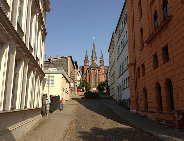 Schwerin State Capital Mecklenburg Western Pomeran