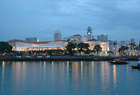 Singapore Vacation Travel Marina Harbor Cityscape
