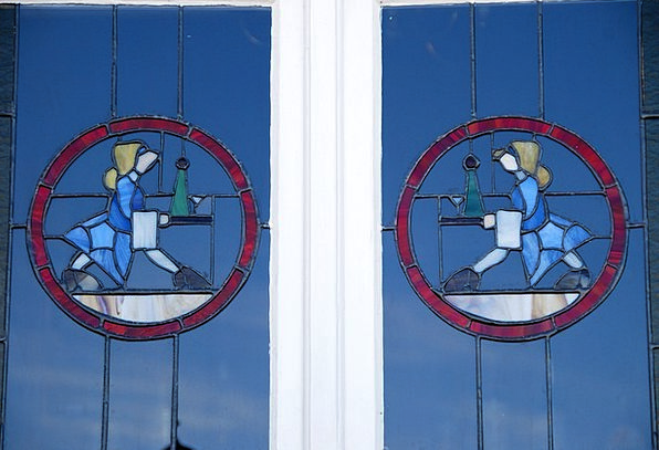 Art Nouveau Gap Swakopmund Window Old Ancient