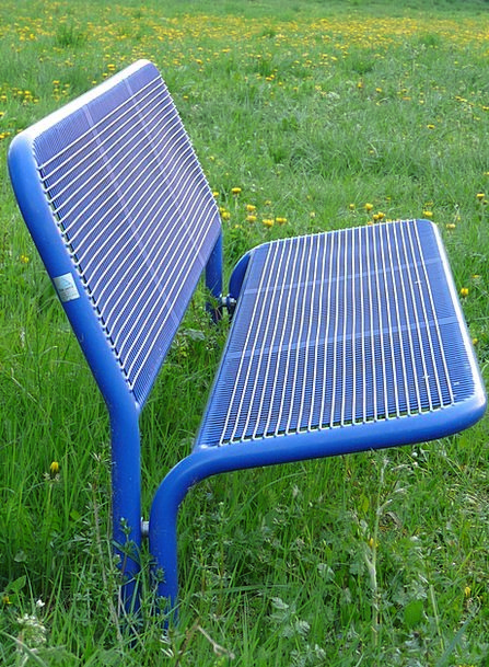 Bank Set Sit Be seated Garden Bench Rest Break Gra