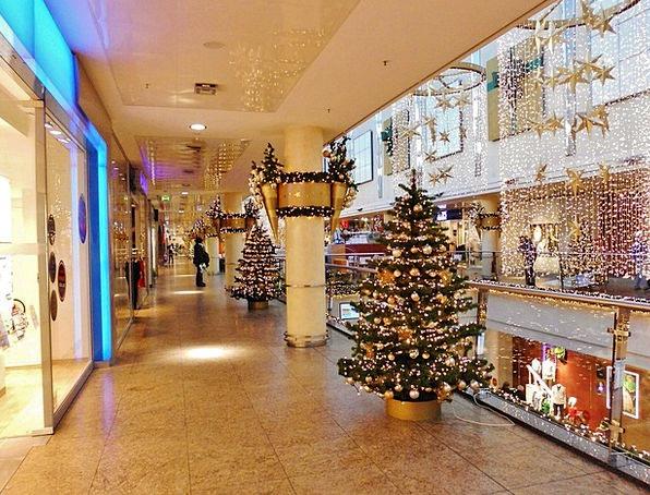 Shopping Center Shopping mall Ground Christmas Dec