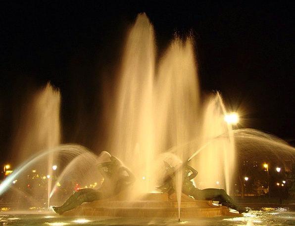 Swann Memorial Fountain Fountain Cascade Fountain