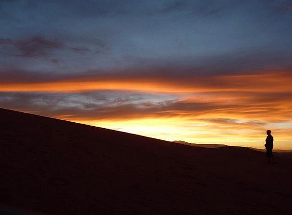 Sunset Sundown Vacation Travel Moon Romanticize At