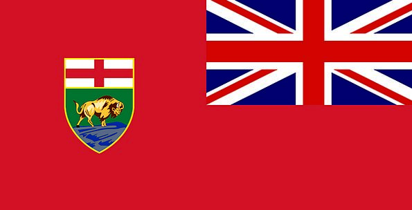 Flag Standard Red Ensign Manitoba Free Vector Grap