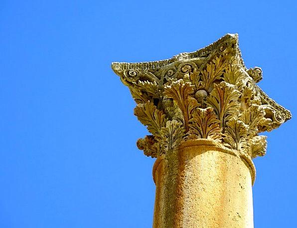 Jerash Column Pillar Jordan