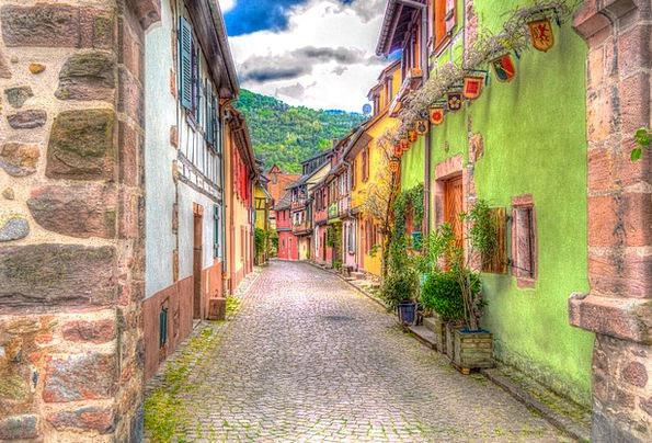Kaysersberg France Alsace Photo Filter Filter Siev