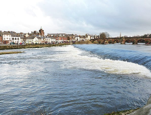Dumfries Nith Scotland Devorgilla Galloway River R