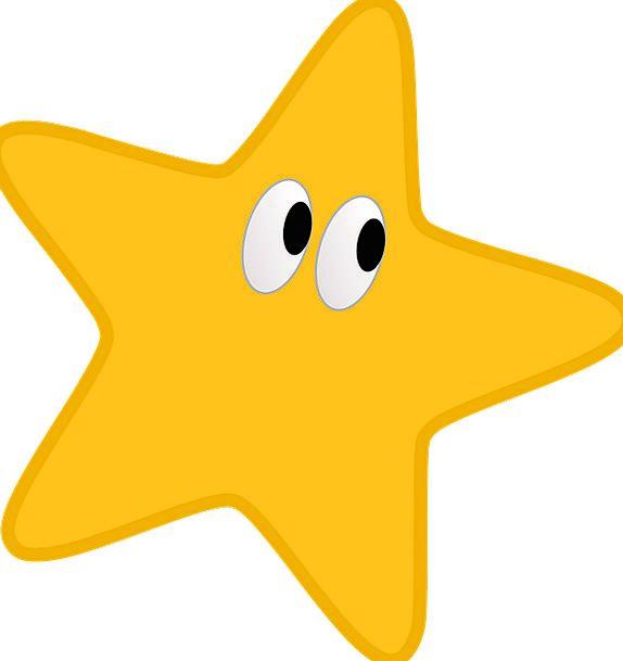 Star Interstellar Creamy Yellow Star Yellow Vector