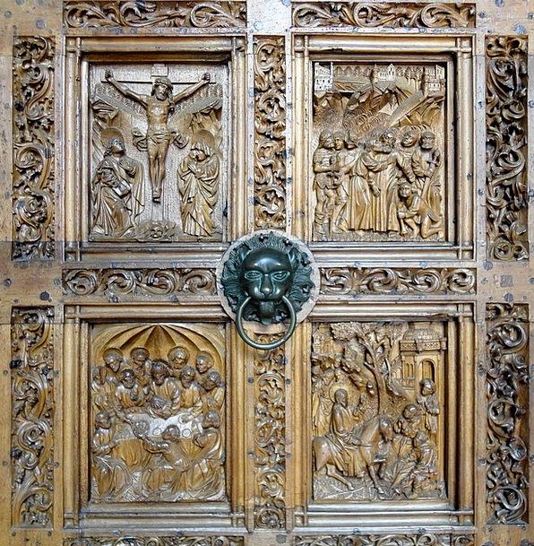 Church Ecclesiastical Portal Gateway Church Door I