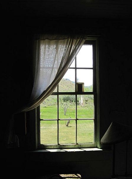 Window Gap Drape Curtains Draperies Curtain Old An