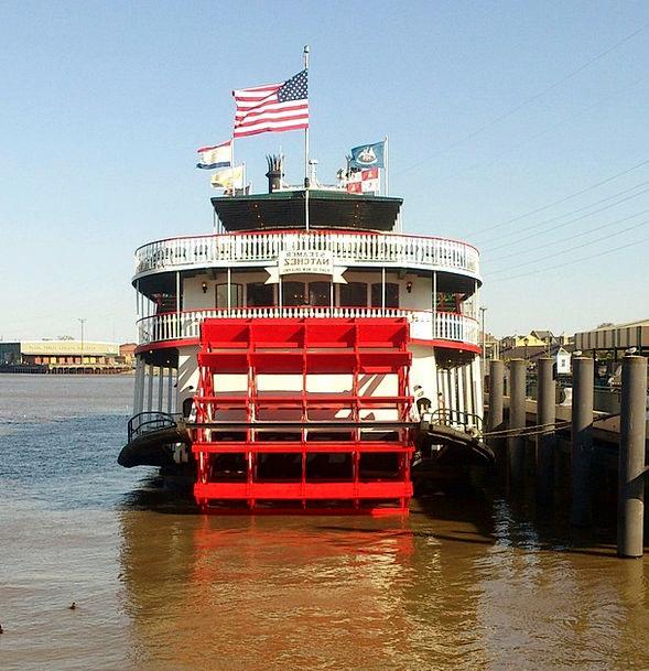 Paddle Steamer Mississippi Steamship New Orleans L