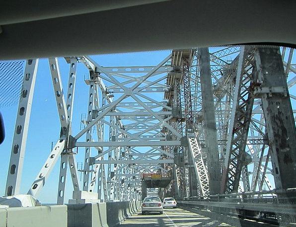 Bridge Bond Buildings Architecture New Orleans Mis