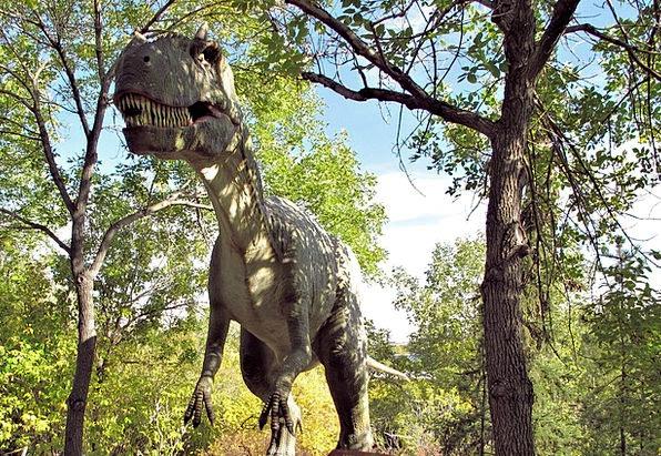 Dinosaur Relic Calgary Zoo Dinosaur Park Alberta C