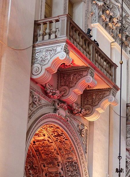 Balcony Circle Illumination Salzburg Cathedral Lig