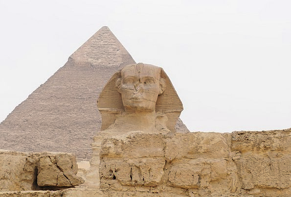 Egypt Monuments Places Pyramid Sphinx Old Ancient