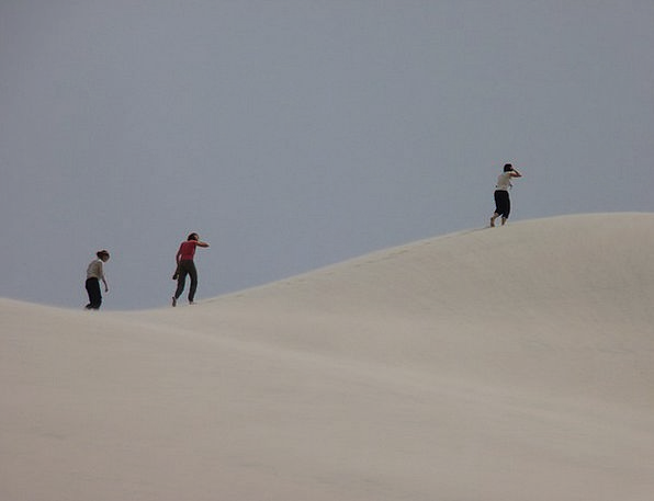 Sand Dune Vacation Hiking Travel Argentina Trekkin