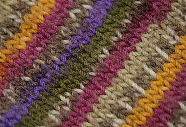 Knitted Woolen Textures Joining Backgrounds Knitte