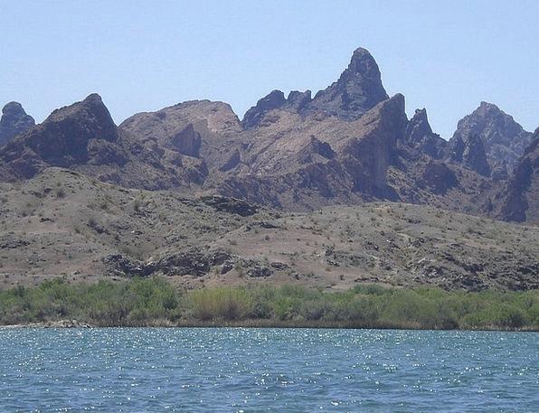 Colorado River Peaks Mountains Arizona
