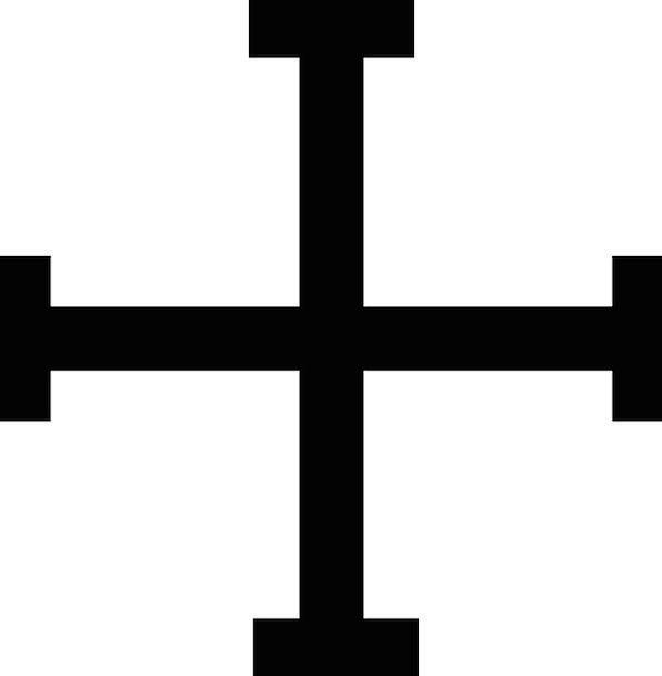 Cross Irritated Christian Jerusalem Christ Christi