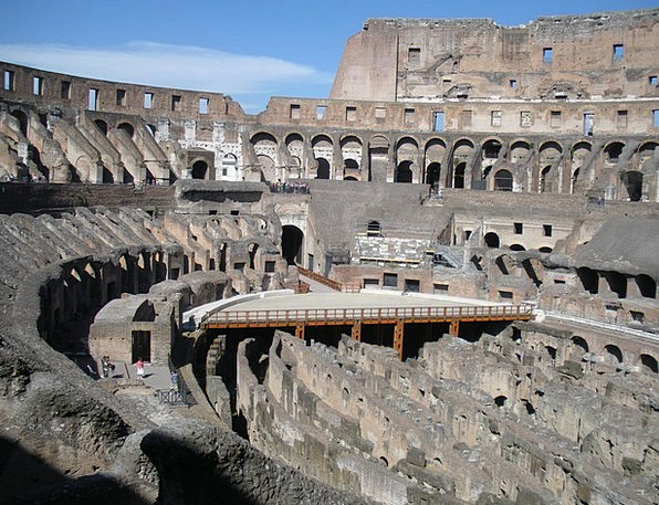 Colosseum Monuments Places Italy Rome Roma Landmar