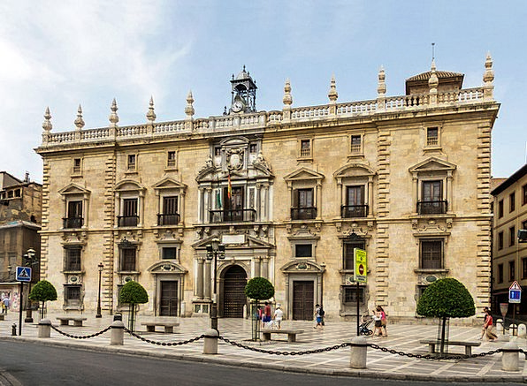 Granada Buildings Architecture Courthouse Court Sp