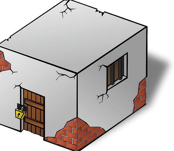 Jailhouse Lockup Jail Cell Cage Prison Custodial M