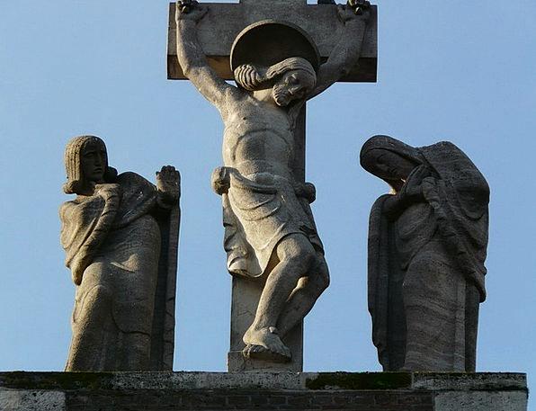 Jesus Figurine Image Copy Statue Stone Portrait Re