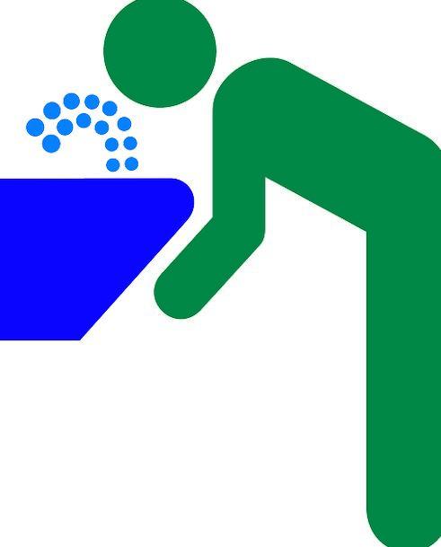 Drinking Water Waterspout Fountain Cascade Drinkin