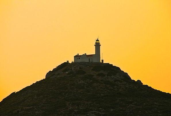 Lighthouse Vacation Travel Sunset Sundown Yellow S