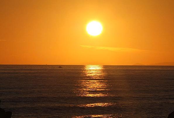 Sunset Sundown Vacation Marine Travel Evening Twil