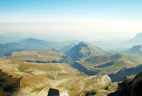 Monte Perdido Landscapes Highest Nature Huesca Top