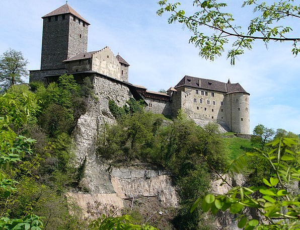 Castle South Tyrol Meran Tyrol Fortress Italy Stro