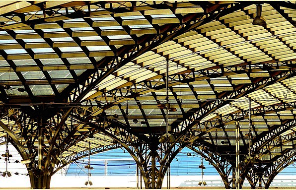 Railway Station Buildings Architecture Roof Roofto