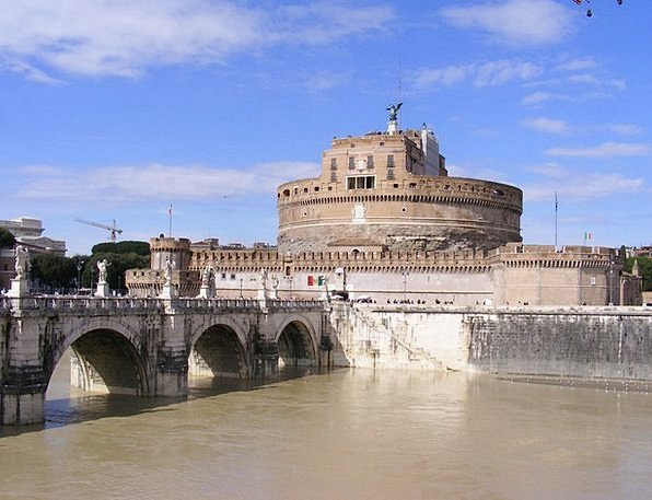 Citadel Fortress Buildings Architecture Rome Europ