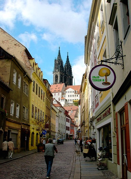 Meissen Towers Barbicans Dom Alley Backstreet Saxo