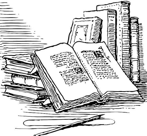 Books Records Exposed Reading Interpretation Open
