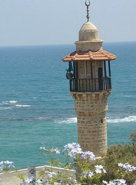 Lighthouse Deface Israel Mar