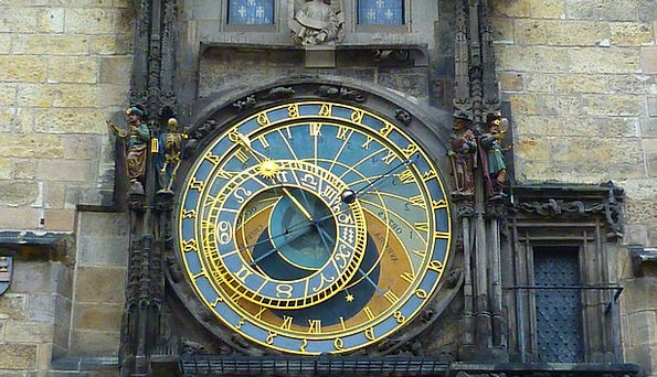 Astronomical Clock Town Hall Prague Old Town Horol