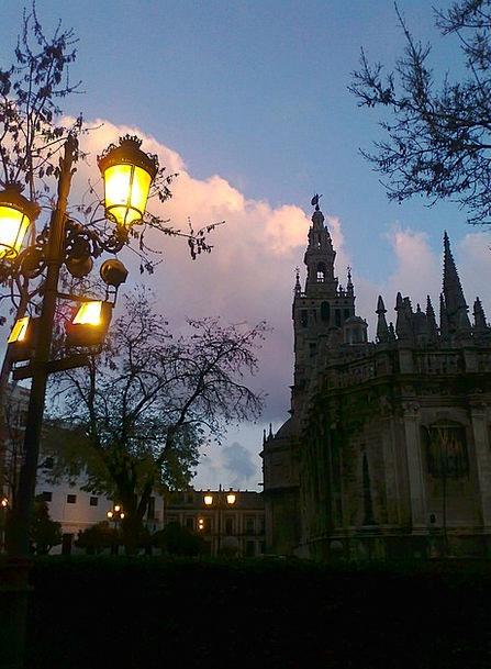 Church Ecclesiastical Seville Cathedral Spain