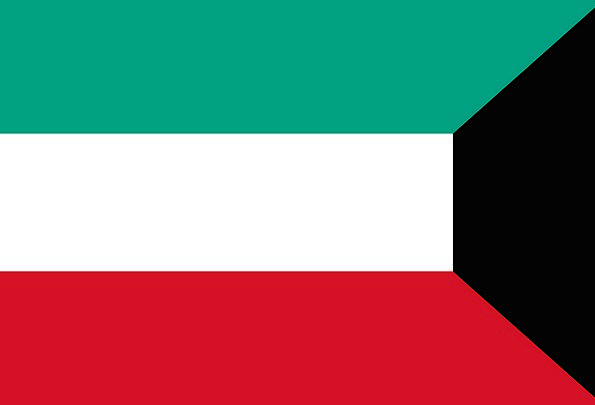 Kuwait Standard National Flag Flag Nationality Nat