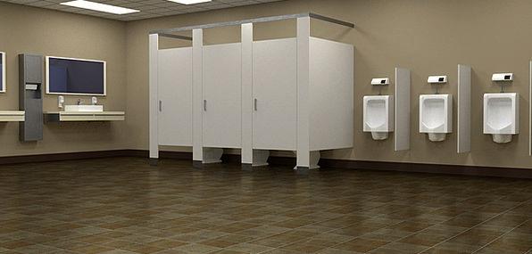 Bathroom Washroom Restroom Men Menfolk Lavatory To