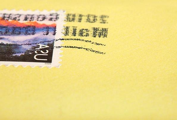 Card Postcard Project Envelope Cover Design Send L