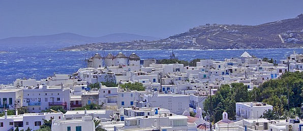 Mykonos Buildings Architecture Village Community G